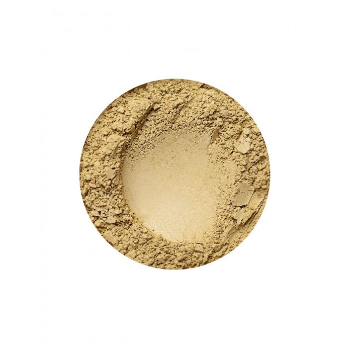 Yellow Annabelle Minerals eyeshadow in Cardamon
