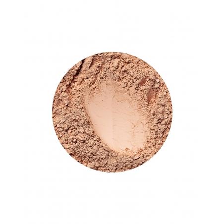 matte mineral foundation for very dark skin in beige dark