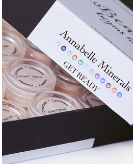 a set of concealers miniatures get ready by annabelle minerals
