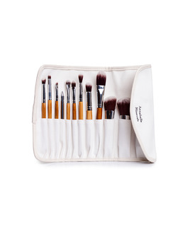 annabelle minerals makeup brushes case