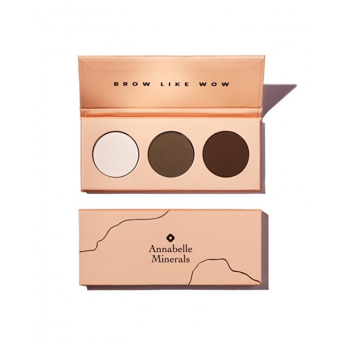 Palette mit Augenbrauen Schatten BROW LIKE WOW