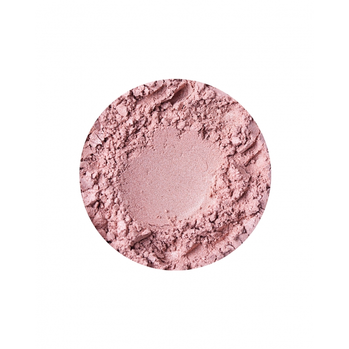 Blusher with shimmer for fair skin