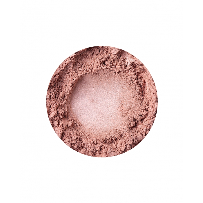 Annabelle Minerals shimmery blusher in Peach Glow