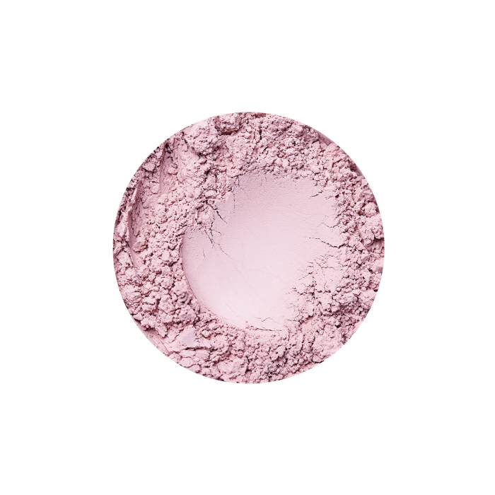 Annabelle Minerals cool blusher in Romantic
