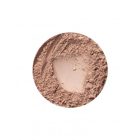 coverage mineral foundation for dark skin in golden medium