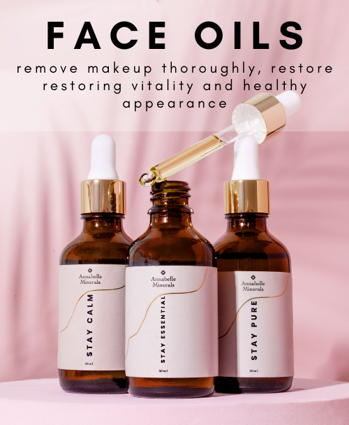 Annabelle Minerals multifunctional face oils