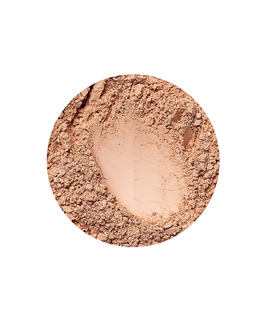 Beige Dark mineral mattende foundation for mørk hudtone
