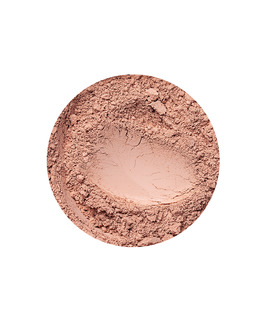Beige Medium mineral mattende foundation for mørk hudtone