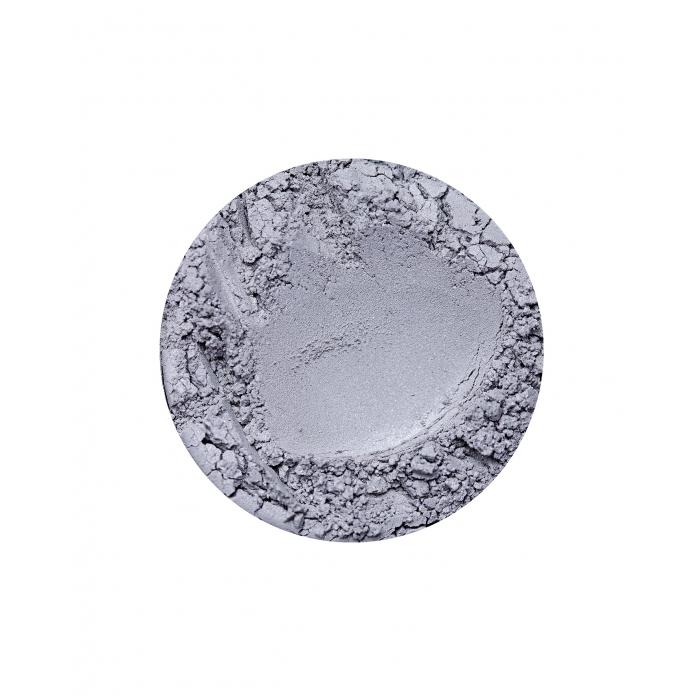 Szary cień do powiek z drobinkami Platinum