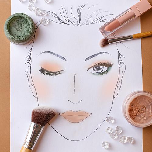 Makijaż w ciepłym brązie