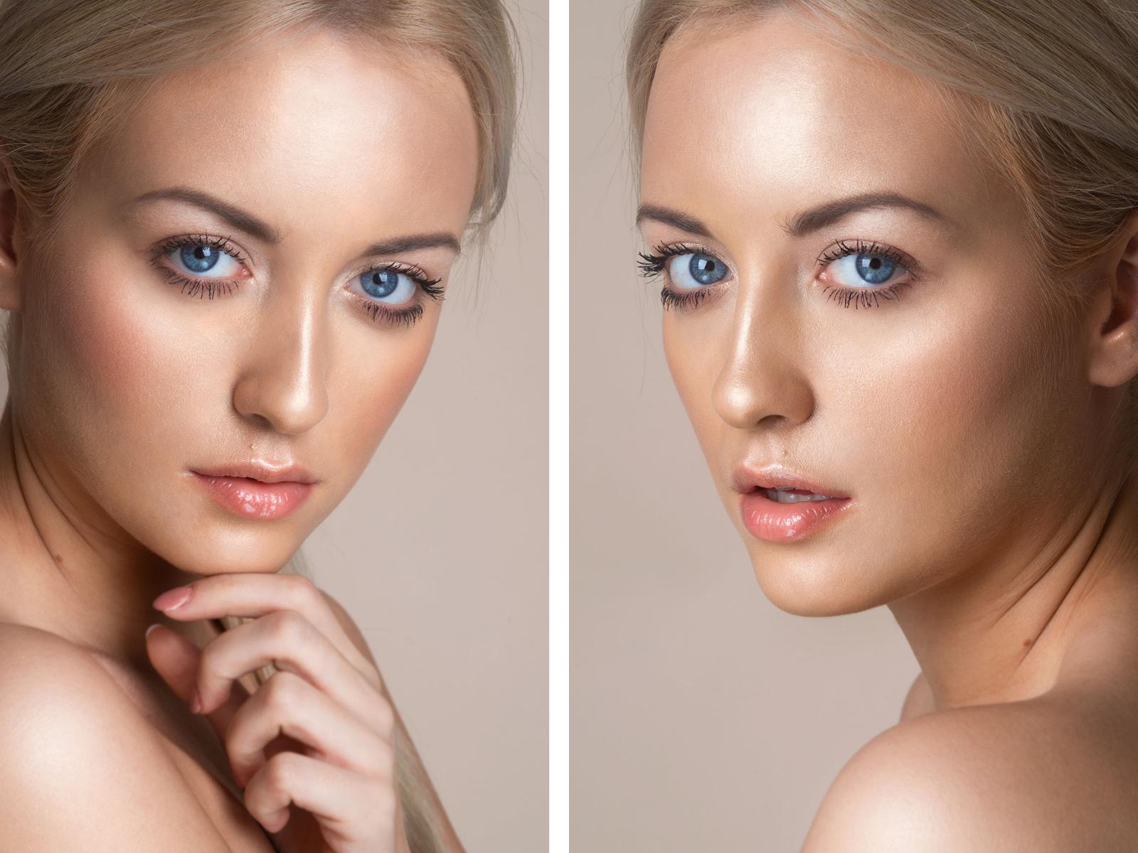 Makijaż rozświetlający z użyciem rozświetlacza mineralnego Diamond Glow od Annabelle Minerals