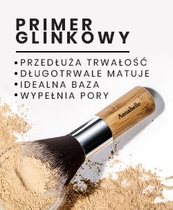 Primer glinkowyto idealna, matująco-wygładzająca baza pod makijaż mineralny